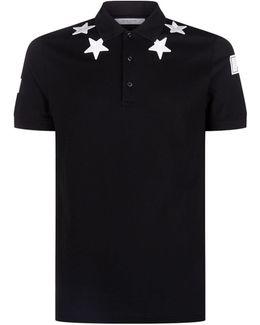 Cuban Star Number Polo Shirt