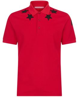 - Cuban Fit Polo Shirt - Men - Cotton/polyester - Xs
