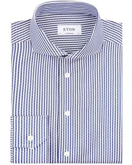 Contemporary Fit Striped Shirt
