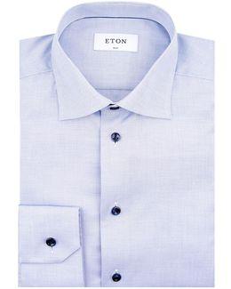 Herringbone Weave Slim Fit Shirt
