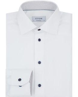 Printed Undercollar Formal Shirt