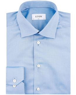 Slim Fit Contrast Piping Shirt