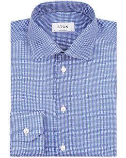 Contemporary Fit Geometric Shirt