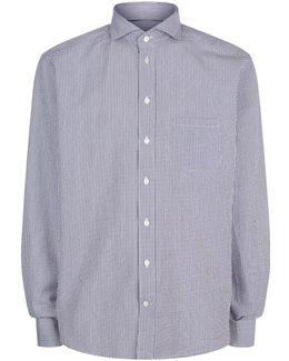 Slim Fit Seersucker Shirt