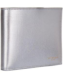 Metallic Bifold Wallet