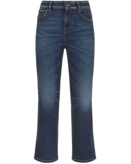 Straight Leg Cropped Jean