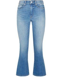 Brix High-rise Crop Jeans
