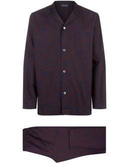 Paisley Cotton Pyjama Set