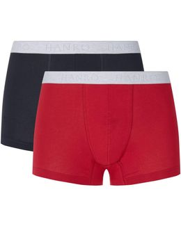 Cotton Essentials Trunks (pack Of 2)