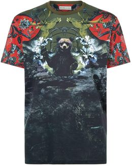 Nature Bear Graphic T-shirt