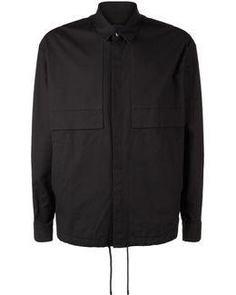 Drawstring Overshirt Jacket