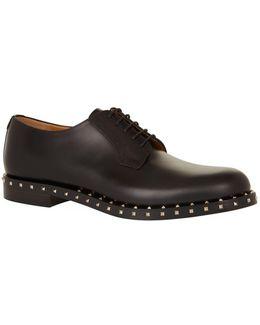 Rockstud Derby Shoes