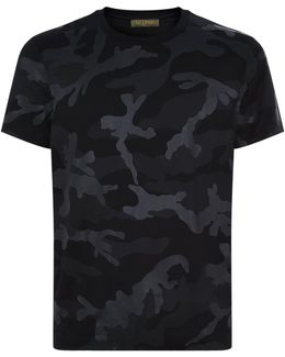 Camouflage Stud T-shirt