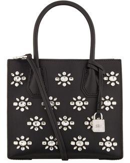 Medium Mercer Embellished Tote Bag