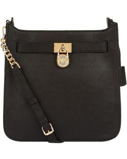 Medium Hamilton Leather Messenger Bag