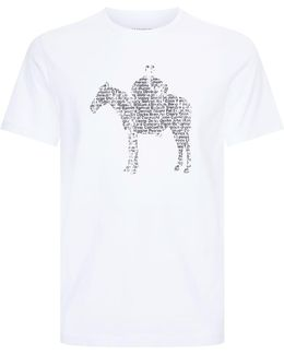 T-shirt With Horse Print