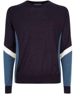 Contrast Sleeve Sweatshirt