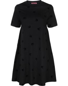 Babydoll Swallow T-shirt Dress
