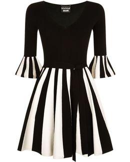 Striped Hem Dress