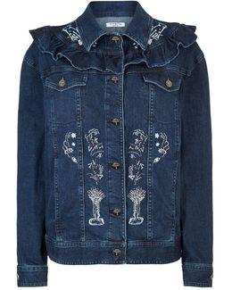 Remes Embroidered Denim Jacket