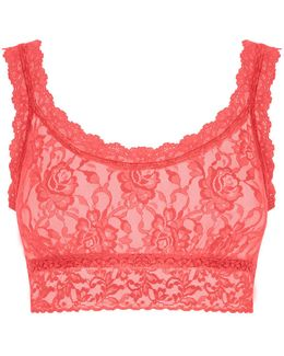 Signature Lace Cropped Tank