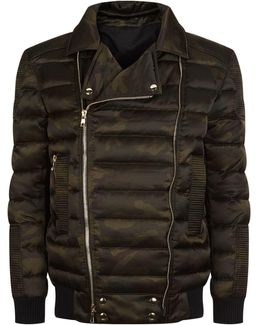 Quilted Camouflage Jacket