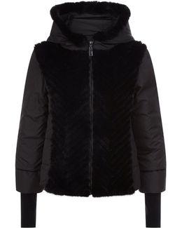 Fur Trim Puffer Jacket