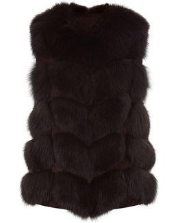 Fox Fur Gilet