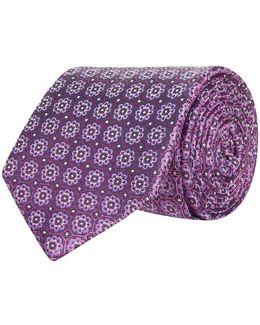 Mosaic Flower Tie
