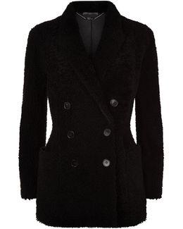 Shearling Pea Coat