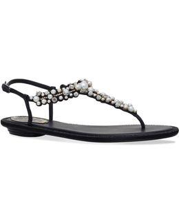 Abies Embellished Sandals