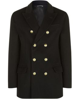 Double-breasted Cashmere Overcoat