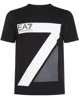 Large 7 Logo Short Sleeve T-shirt