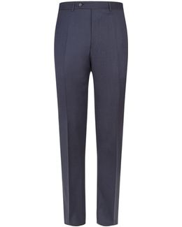 Diagonal Twill Trousers