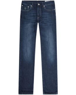 Regular Fit Washed Jeans