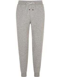 Cashmere-cotton Sweatpants