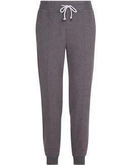 Pleat Front Sweatpants