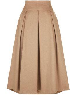 Fratte Camel Hair Skirt