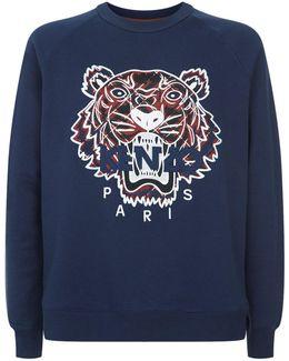 Tiger Logo Sweatshirt
