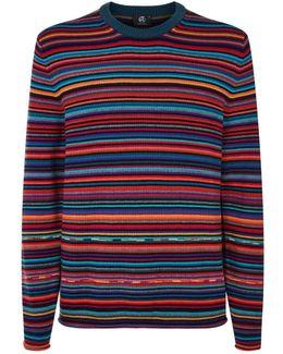 Multicoloured Stripe Sweater