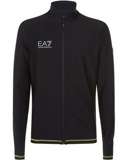 Contrast Trim Zip-up Base Layer
