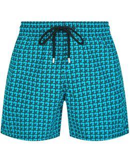 Moorea Printed Swim Shorts