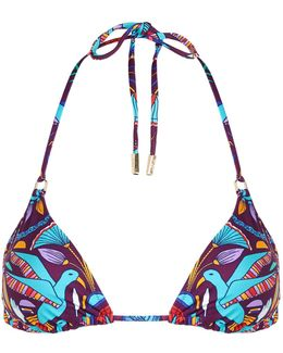 Nubia Padded Triangle Bikini Top