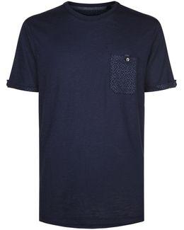 Apel Printed Pocket T-shirt