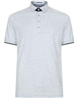 Helyea Contrast Cuff Polo Shirt