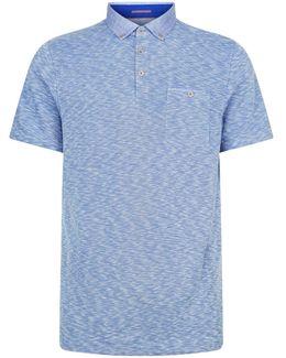 Sogar Printed Collar Polo Shirt