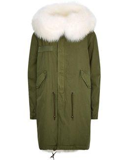Fur Lined Long Parka