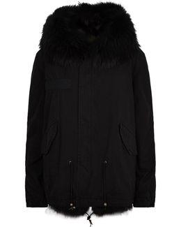 Fur Lined Short Parka