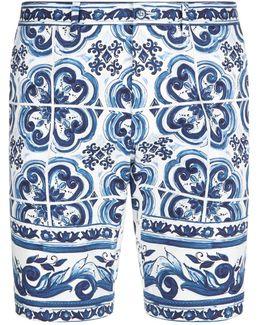 Majolica Bermuda Shorts