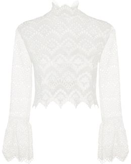 Antique Lace Bell Sleeve Top